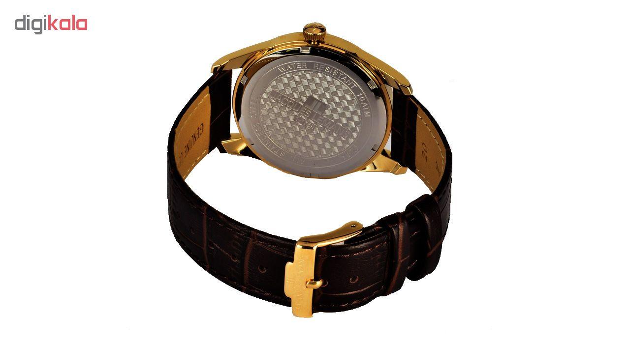 کد تخفیف                                      ساعت مچی عقربه ای مردانه ژاک لمن مدل 1-1769E
