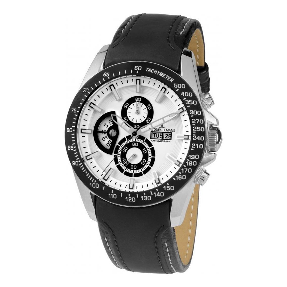 ساعت مچی عقربه ای مردانه ژاک لمن مدل 1-1635B