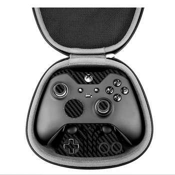 برچسب ماهوت مدل  Black Carbon-fiber Texture  مناسب برای دسته کنترل بازی مایکروسافت Elite Xbox One controller | MAHOOT Black Carbon-fiber Texture Sticker for Microsoft Elite Xbox One controller