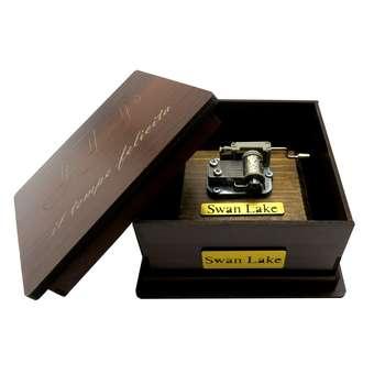 جعبه موزیکال هندلی ایل تمپو فلیچیتا مدل Swan Lake