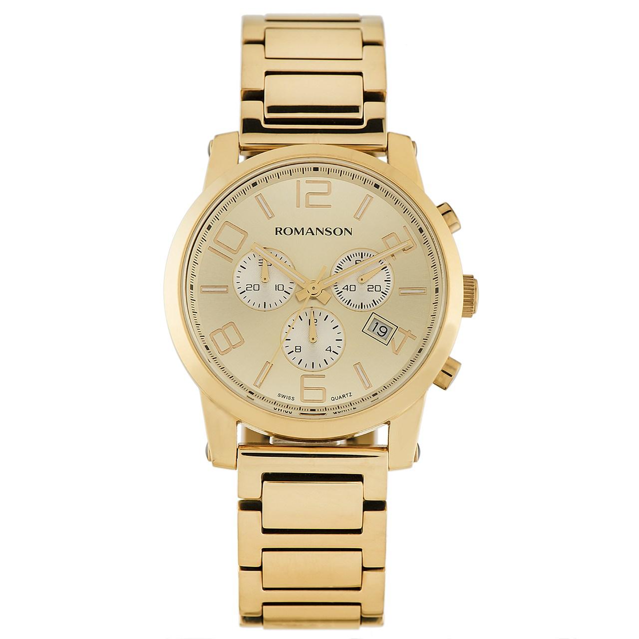 ساعت مچی عقربه ای مردانه رومانسون مدل TM0334HM1GA81G