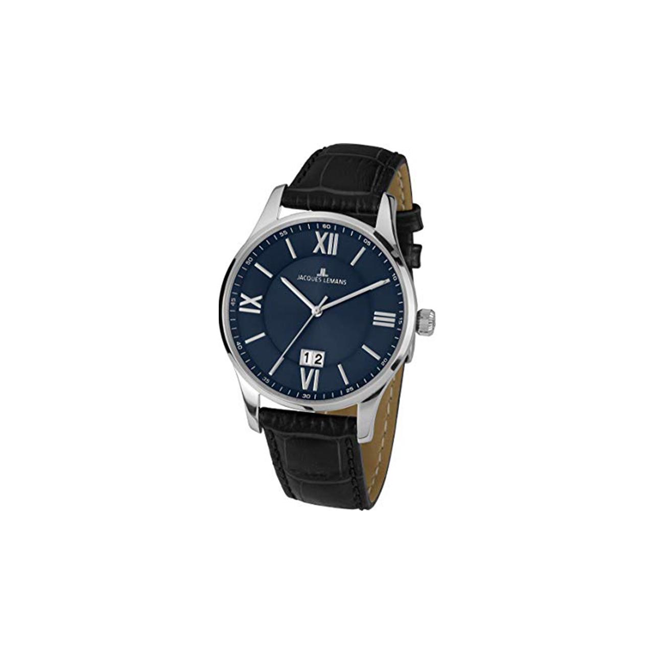 ساعت مچی عقربه ای مردانه ژاک لمن مدل 1-1845O