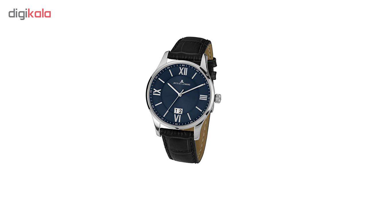 کد تخفیف                                      ساعت مچی عقربه ای مردانه ژاک لمن مدل 1-1845O