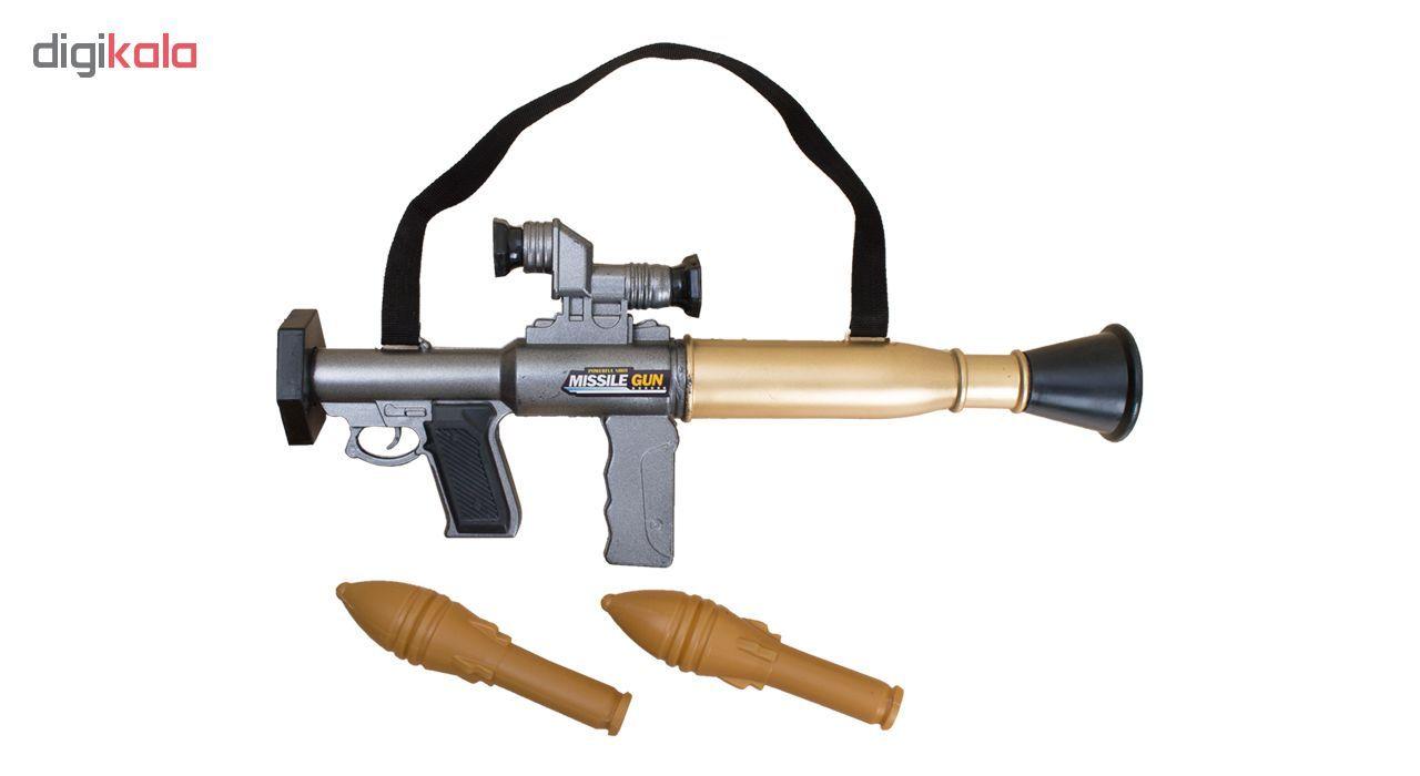 تفنگ اسباب بازی مدل RPG Missile main 1 1