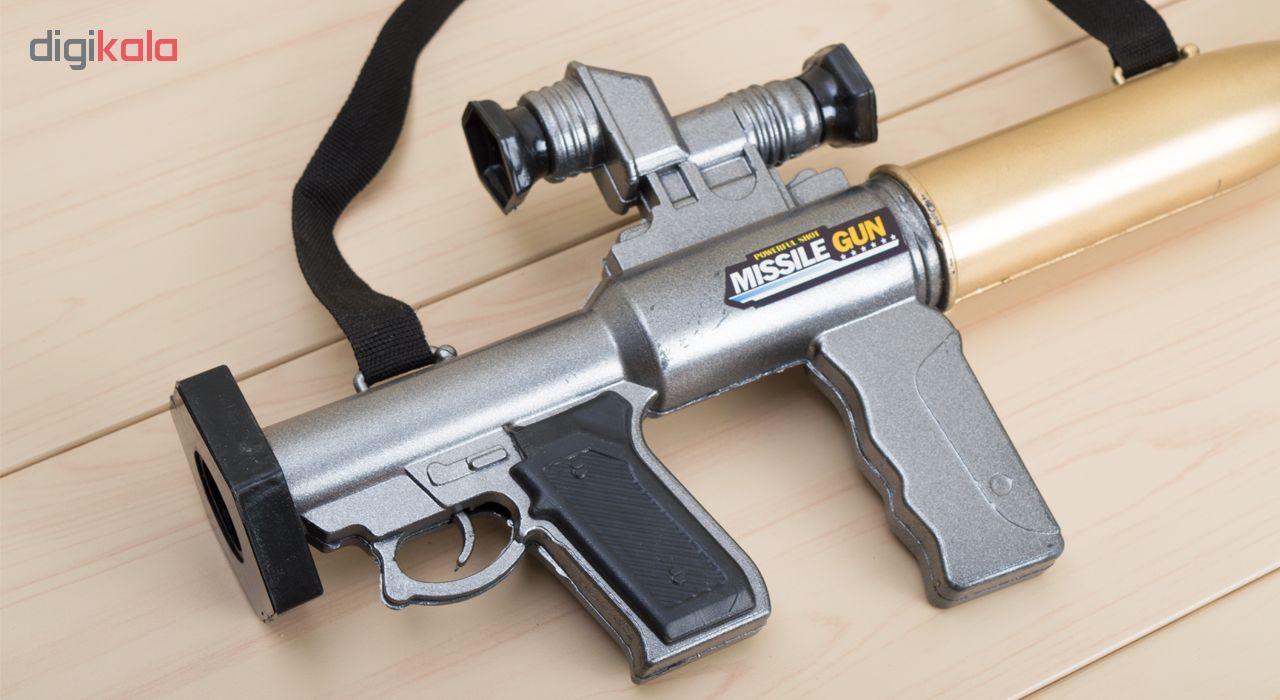 تفنگ اسباب بازی مدل RPG Missile main 1 2