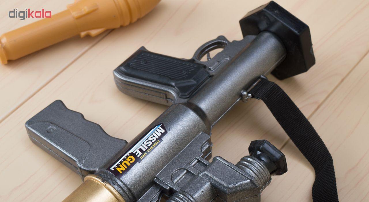 تفنگ اسباب بازی مدل RPG Missile main 1 5