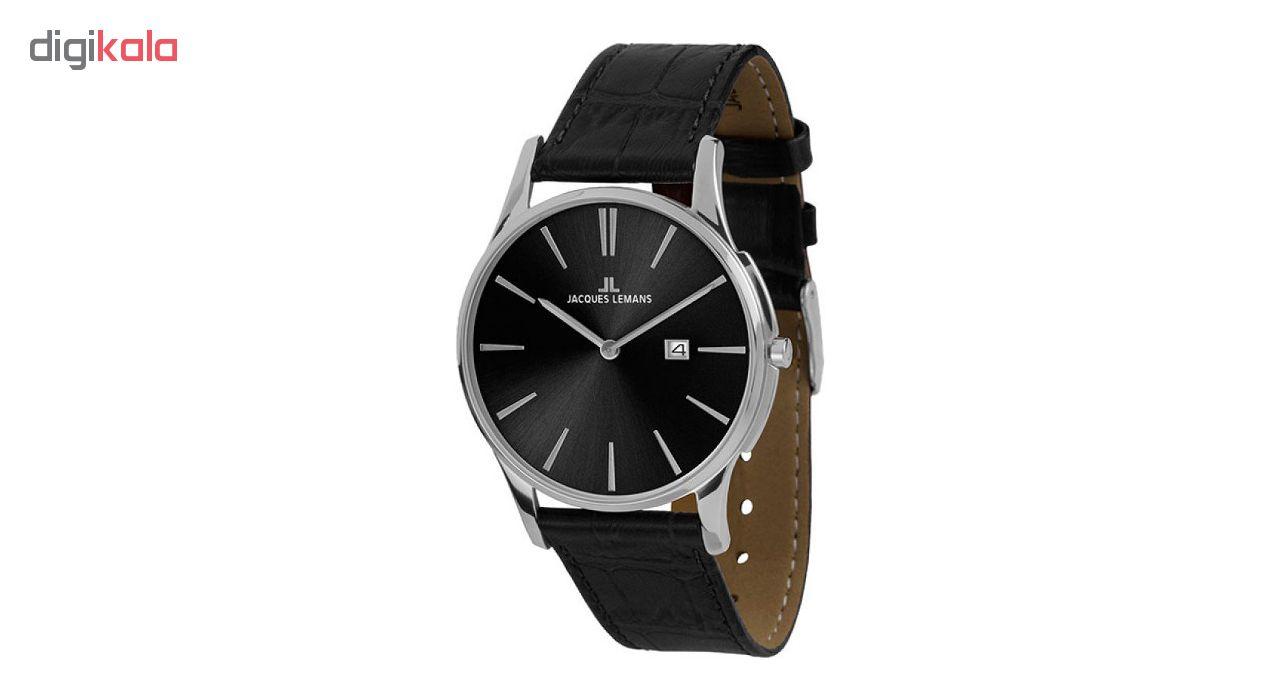 کد تخفیف                                      ساعت مچی عقربه ای مردانه ژاک لمن مدل 1-1936A