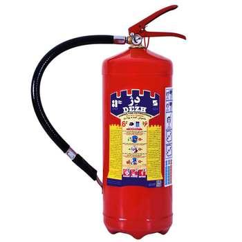 کپسول آتش نشانی دژ کد 66 وزن 6 کیلوگرم