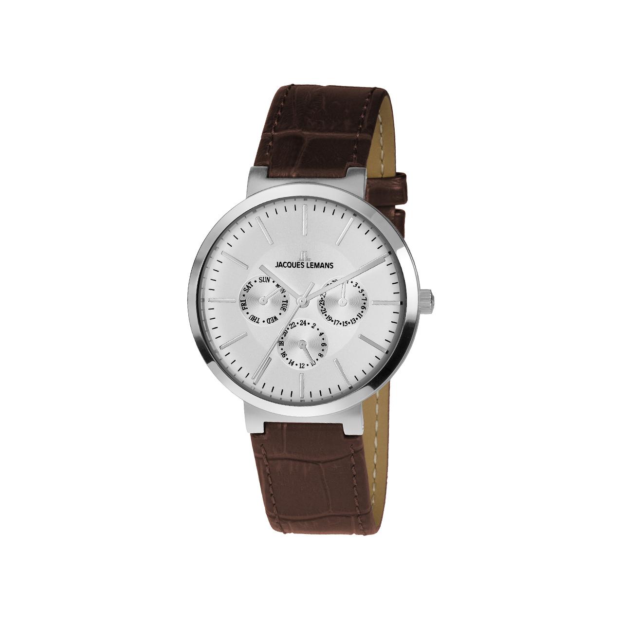 ساعت مچی عقربه ای مردانه ژاک لمن مدل 1-1950B
