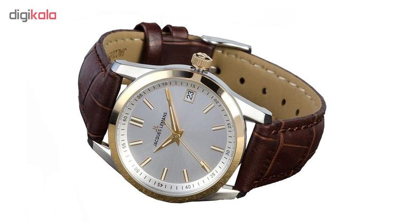 ساعت مچی عقربه ای زنانه ژاک لمن مدل 1-1811G