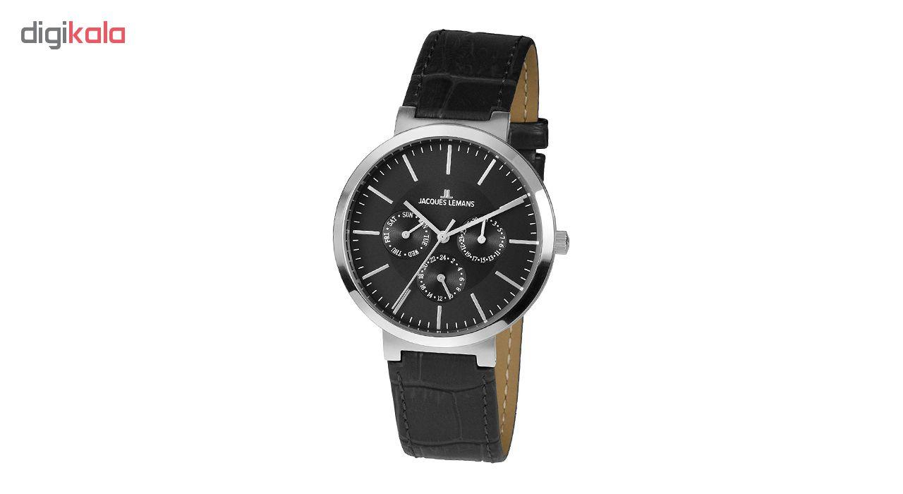 ساعت مچی عقربه ای مردانه ژاک لمن مدل 1-1950A