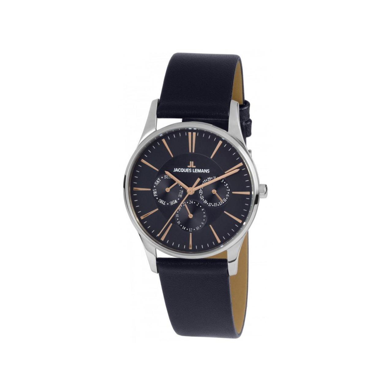 ساعت مچی عقربه ای مردانه ژاک لمن مدل 1-1929C