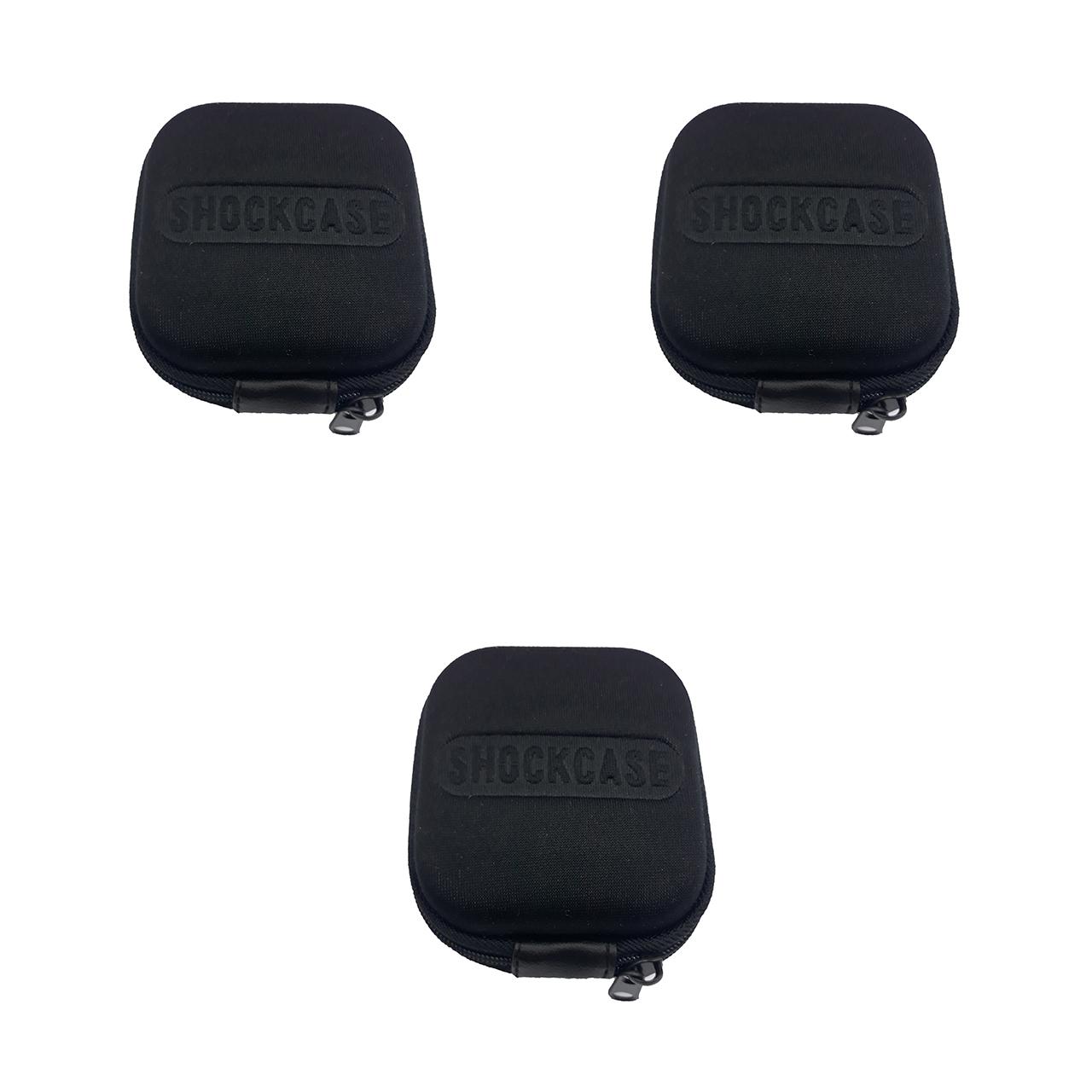 کیف هندزفری مدل Shockcase بسته 3 عددی              ( قیمت و خرید)