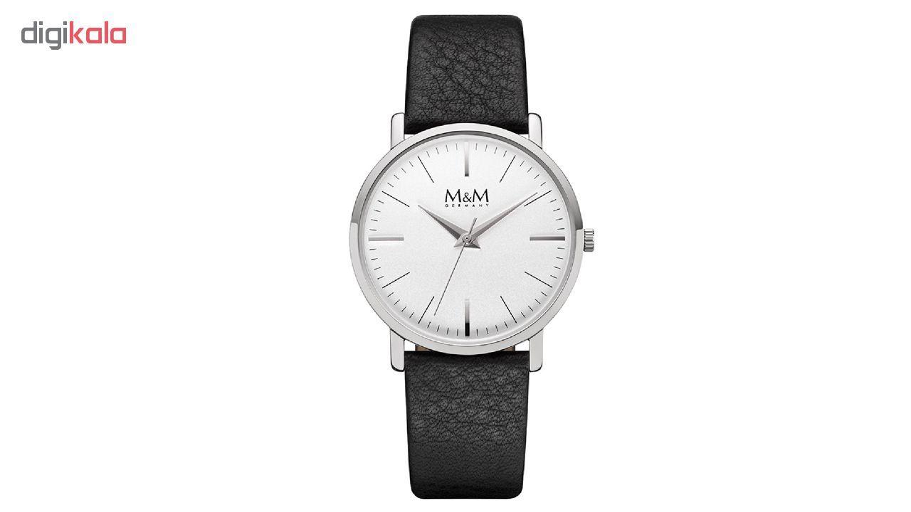 ساعت مچی عقربه ای مردانه و زنانه ام اند ام مدل M11926-442 main 1 1