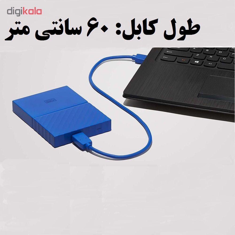 کابل تبدیل USB به micro-B مدل AM-HDD طول 0.60 متر main 1 3