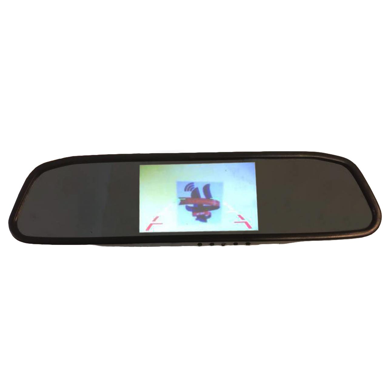 آینه مانیتور و سنسور دنده عقب زنوتیک مدل MT1