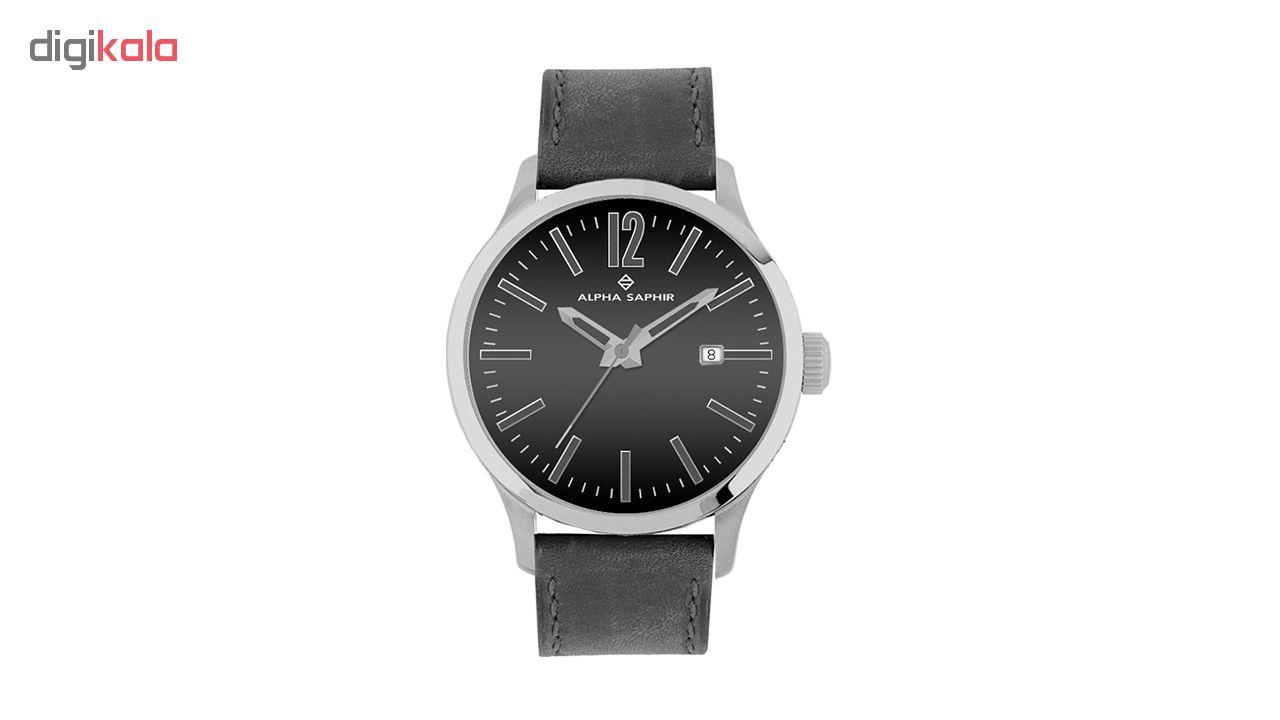 ساعت  مردانه آلفا سفیر مدل 381A