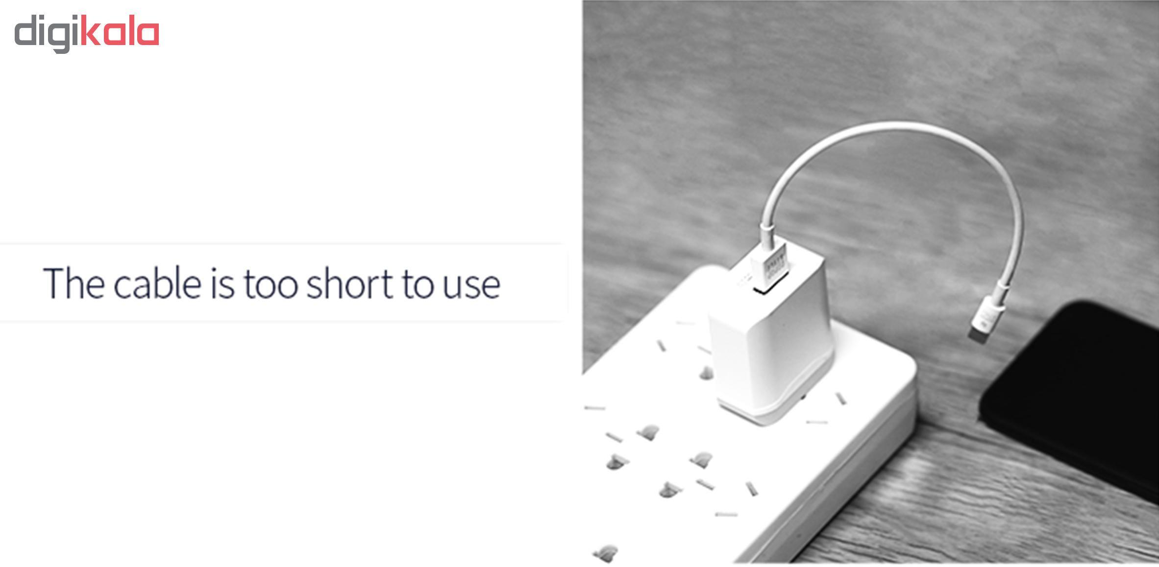 کابل تبدیل USB به لایتنینگ/ micro USB /USB-C یوسمز مدل US-SJ263 طول 1 متر main 1 12