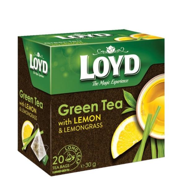 چای سبز و به لیمو لوید بسته 20 عددی