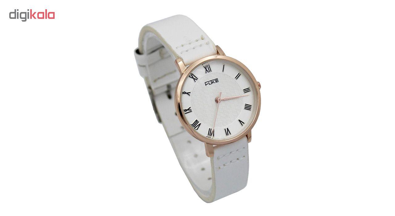ساعت مچی عقربه ای زنانه فوکه مدل DGZU-0130