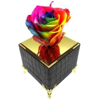 گل رز جاودان مدل CHANCE | Enternal Blooms CHANCE Preserved Rose Flower Box