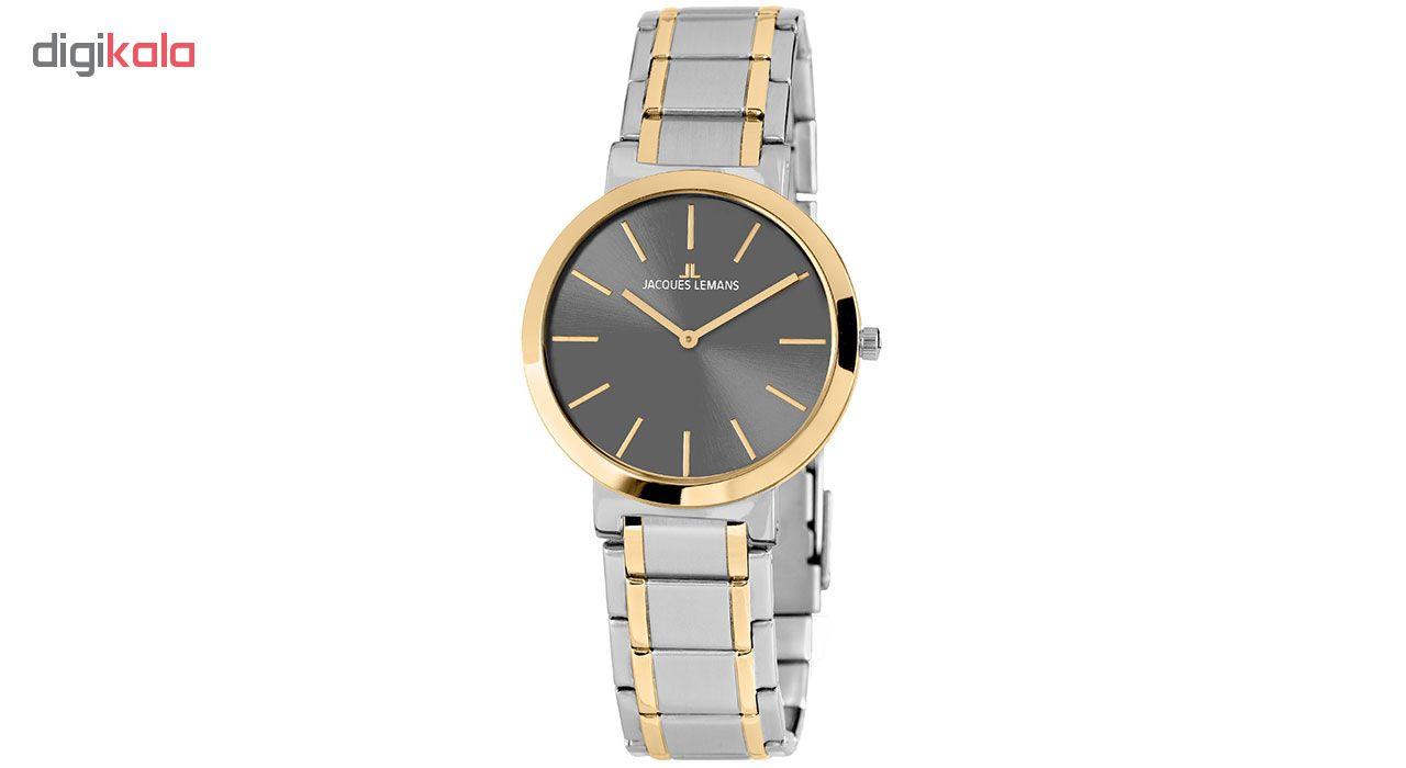 کد تخفیف                                      ساعت مچی عقربه ای مردانه ژاک لمن مدل 1-1998F