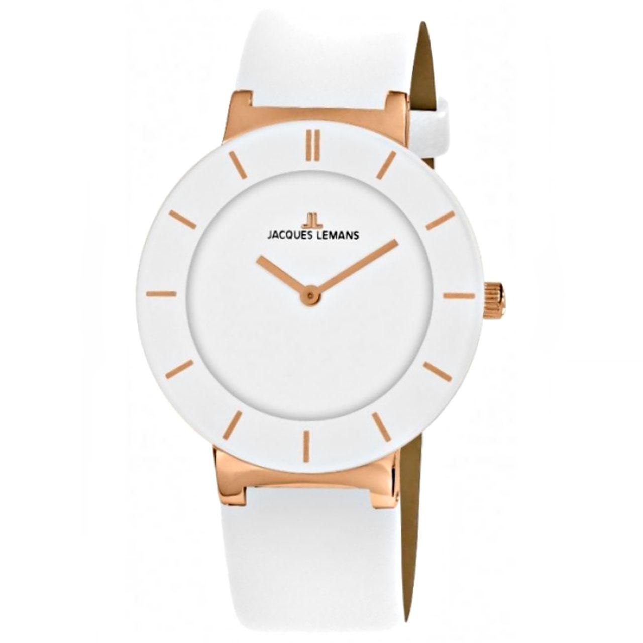 ساعت مچی عقربه ای زنانه ژاک لمن مدل 1-1867D