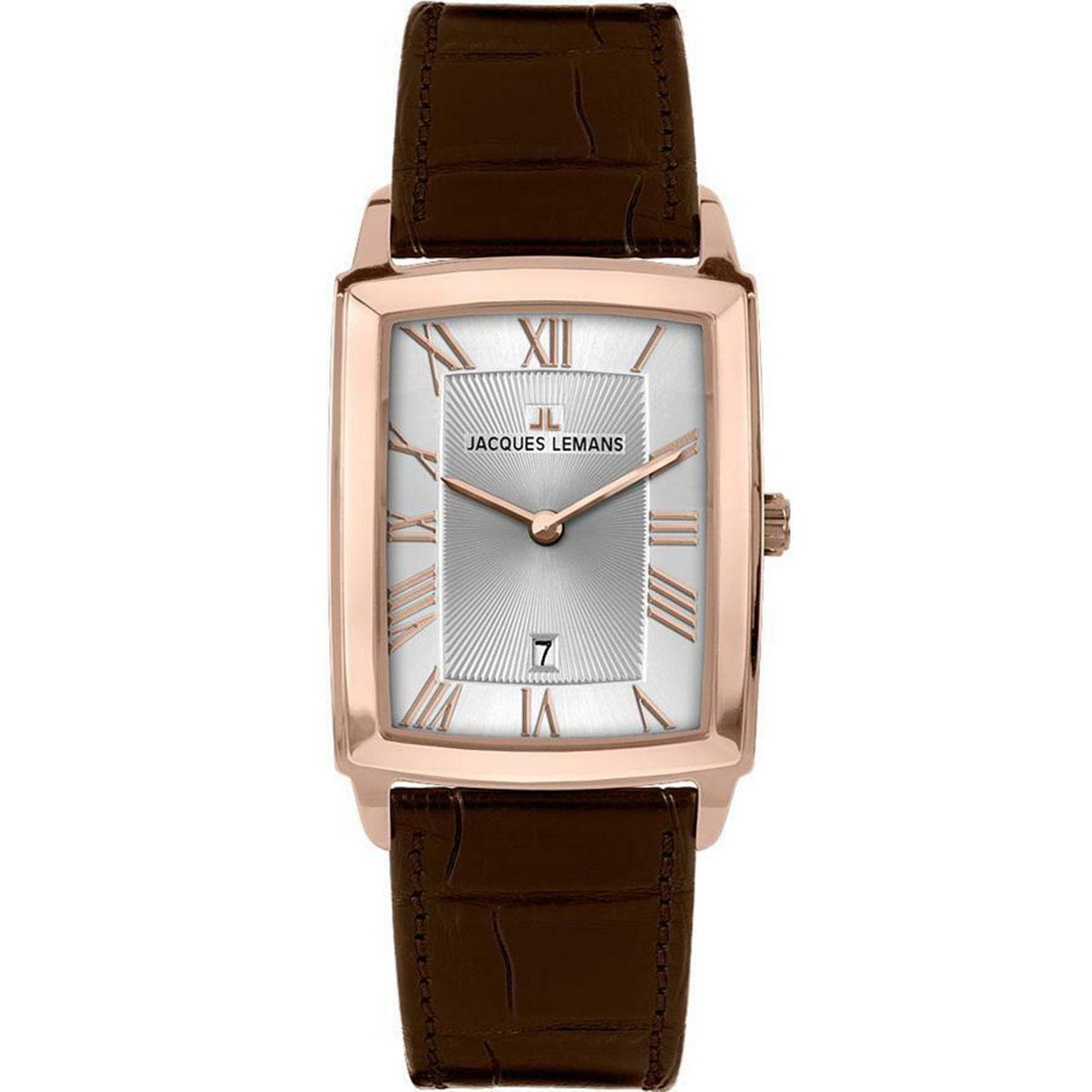 ساعت مچی عقربه ای مردانه ژاک لمن مدل 1-1611E