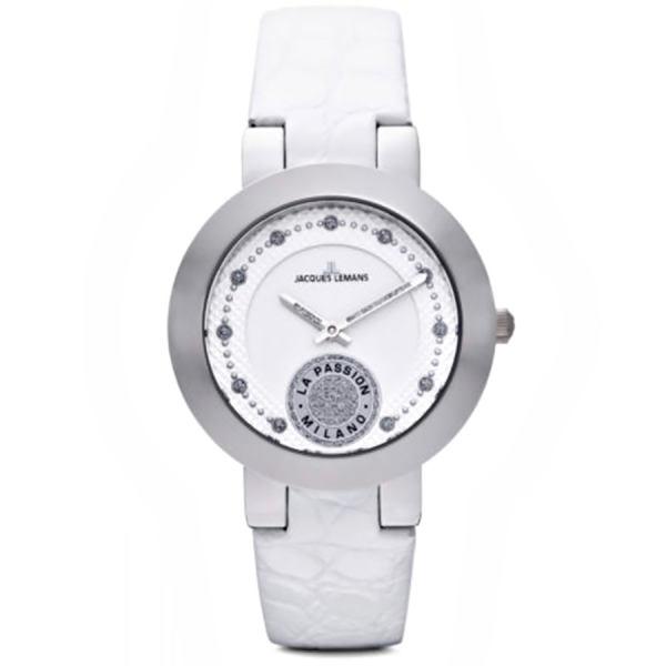 ساعت مچی عقربه ای زنانه ژاک لمن مدل 1-1684B