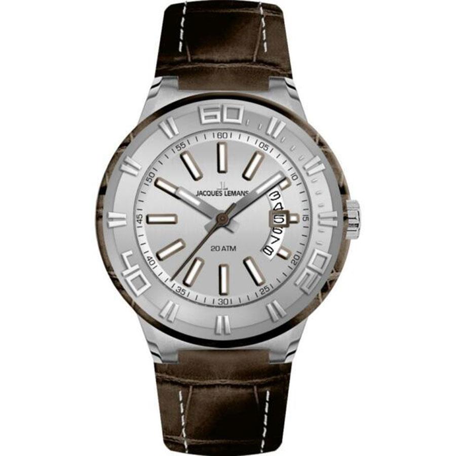 ساعت مچی عقربه ای مردانه ژاک لمن مدل 1-1770F