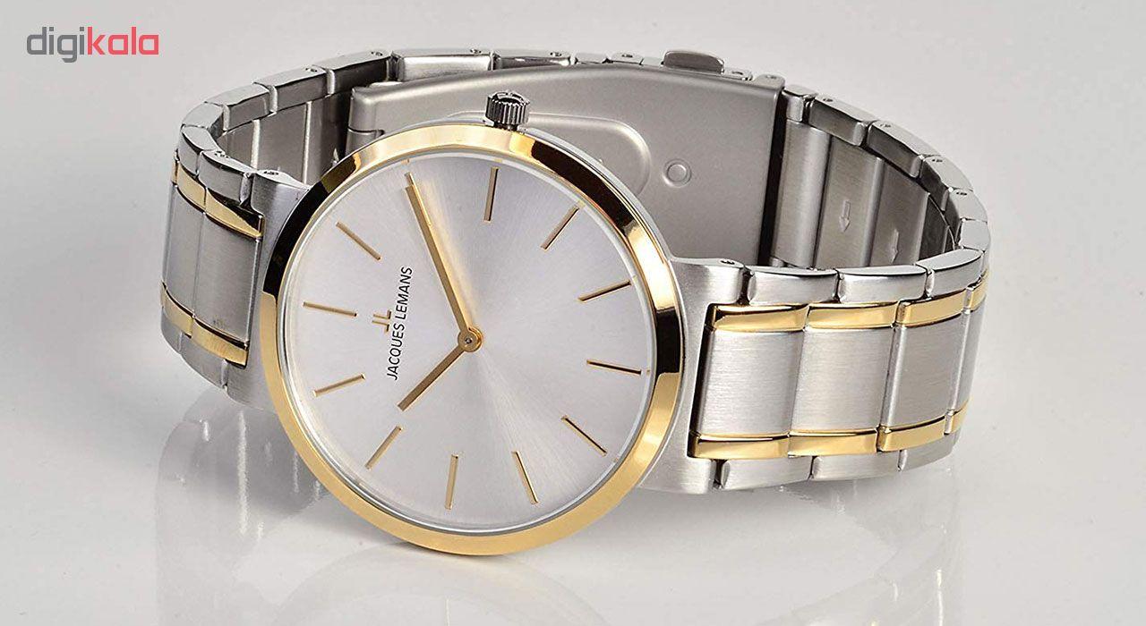 ساعت مچی عقربه ای زنانه ژاک لمن مدل 1-1998G