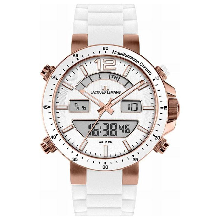 ساعت مچی عقربه ای مردانه ژاک لمن مدل 1-1712Q 54