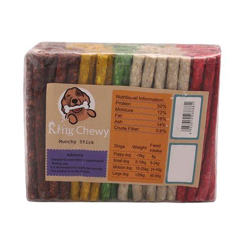 غذای تشویقی سگ مانچی مدل King Chewy بسته 100 عددی