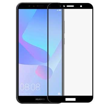 محافظ صفحه نمایش Full Glue کد 616 مناسب برای گوشی موبایل هوآوی Y6 PRIME 2018