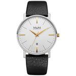 ساعت مچی عقربه ای مردانه ام اند ام مدل M11928-462 thumb