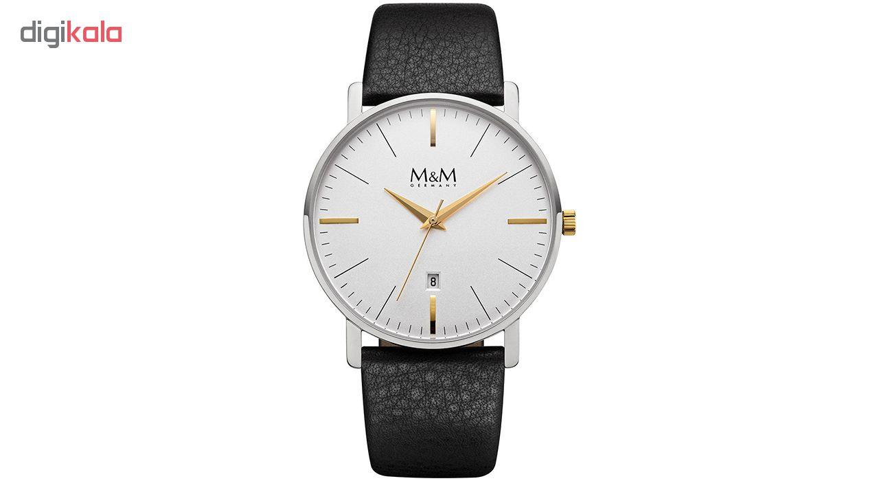 ساعت مچی عقربه ای مردانه ام اند ام مدل M11928-462 main 1 1