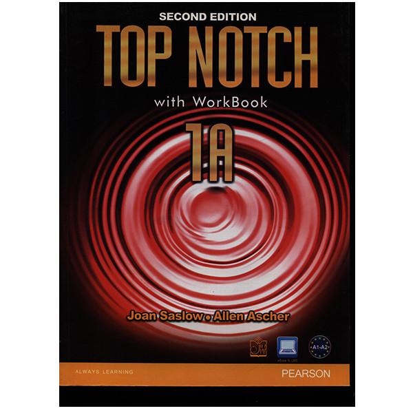 کتاب TOP NOTCH 1A اثر جمعی از نویسندگان انتشارات فروزش