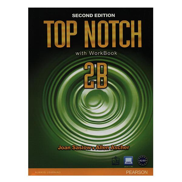 کتاب TOP NOTCH 2B اثر جمعی از نویسندگان انتشارات فروزش