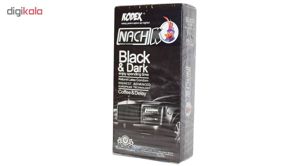 کاندوم ناچ کدکس مدل Black & Dark بسته 12 عددی main 1 1