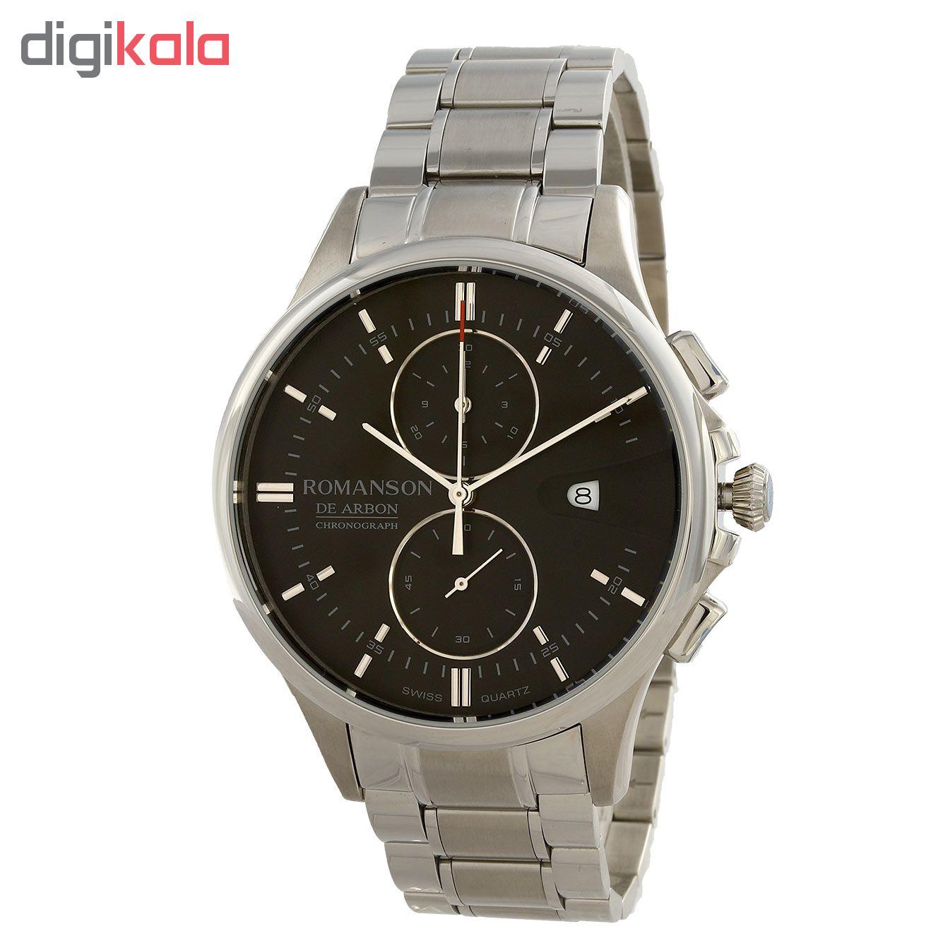 کد تخفیف                                      ساعت مچی عقربه ای مردانه رومانسون مدل CA5A09HMWWA3R5