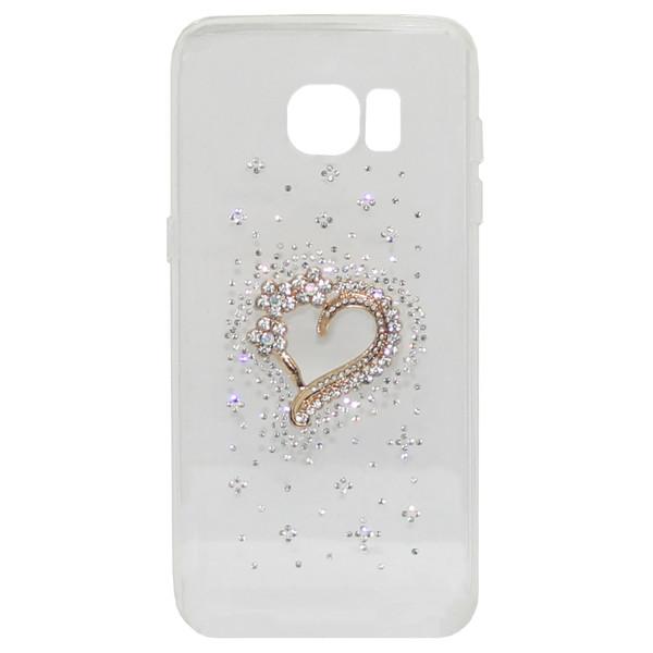 کاور گود مدل heart مناسب برای گوشی موبایل سامسونگ S7 edge
