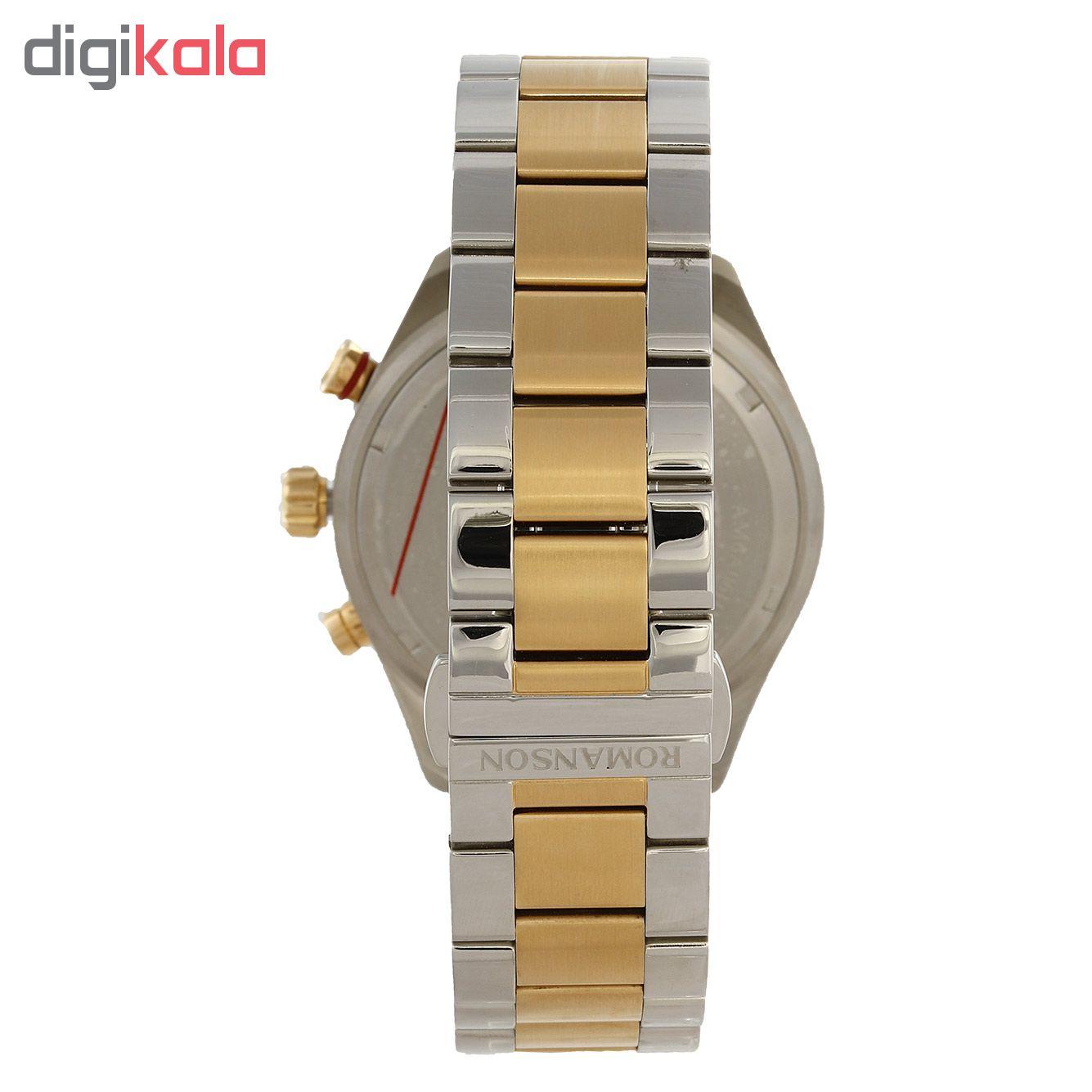 کد تخفیف                                      ساعت مچی عقربه ای مردانه رومانسون مدل AM6A06HMCCA1R5