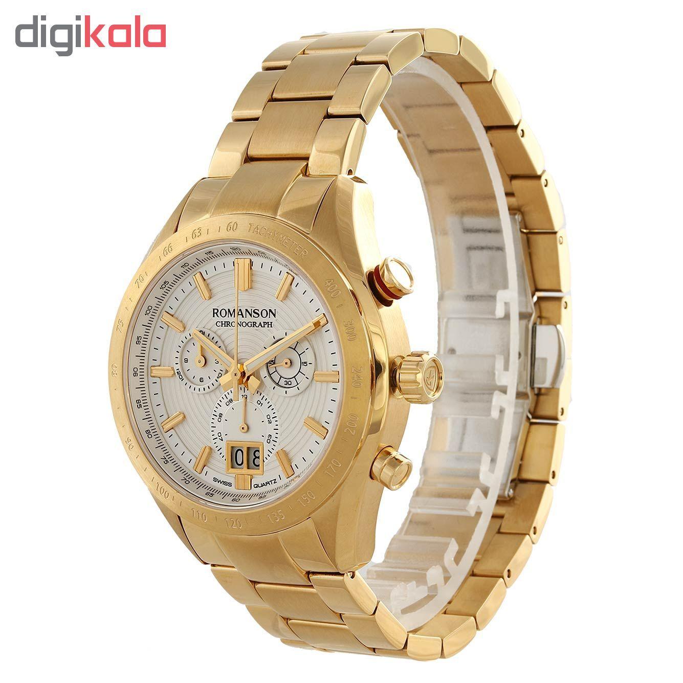 ساعت مچیعقربه ای مردانه رومانسون مدل AM6A06HMGGA1R5