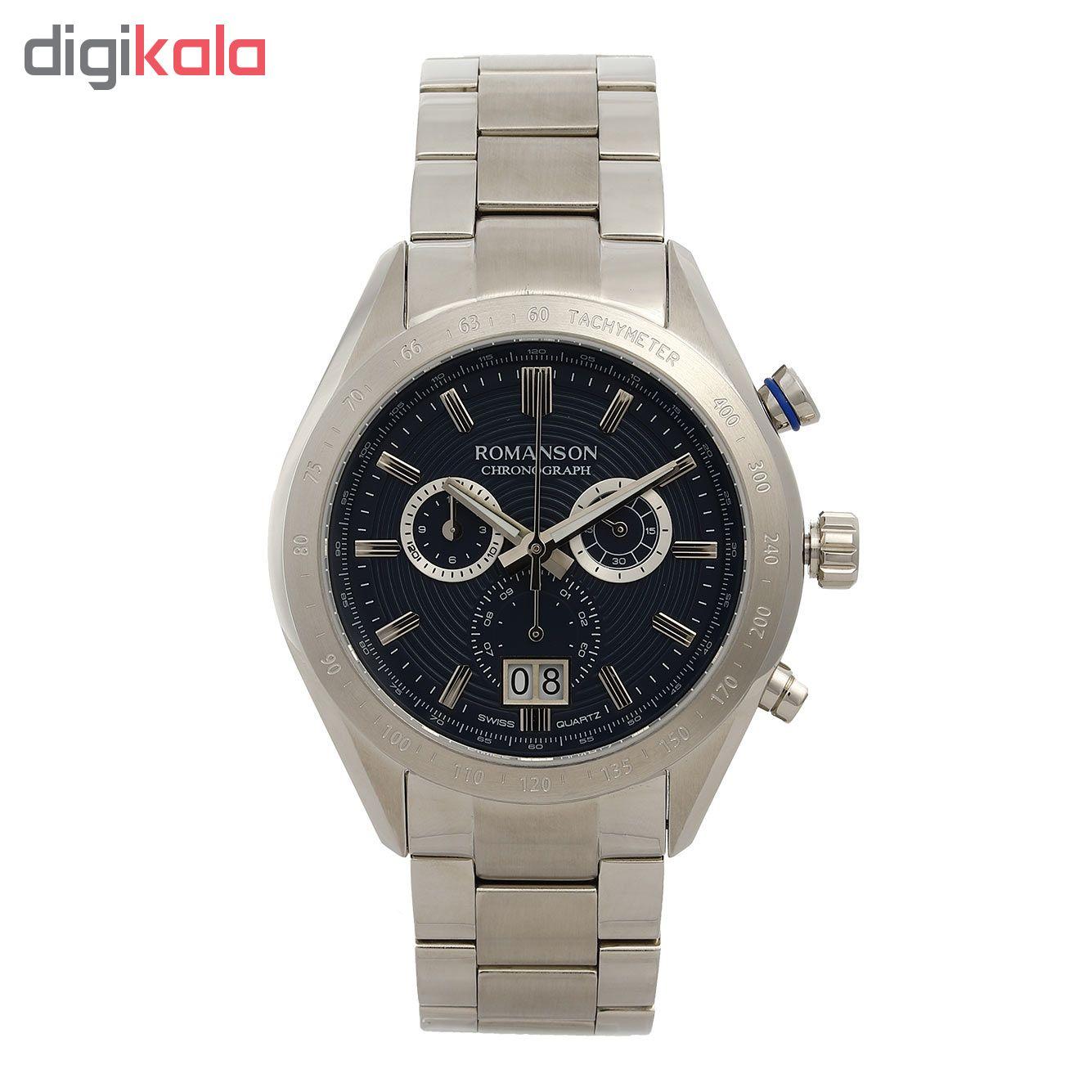 خرید ساعت مچی عقربه ای مردانه رومانسون مدل AM6A06HMWWA4R5