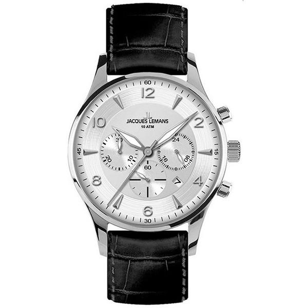ساعت مچی عقربه ای مردانه ژاک لمن مدل 1-1654B
