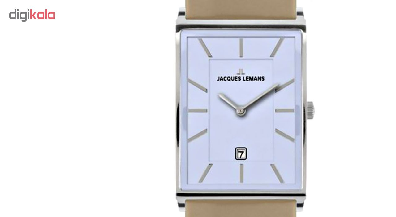 کد تخفیف                                      ساعت مچی عقربه ای مردانه ژاک لمن مدل 1-1603E