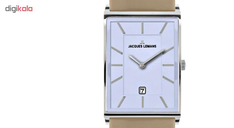 ساعت مچی عقربه ای مردانه ژاک لمن مدل 1-1603E