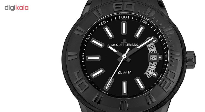 ساعت مچی عقربه ای مردانه ژاک لمن مدل 1-1770J