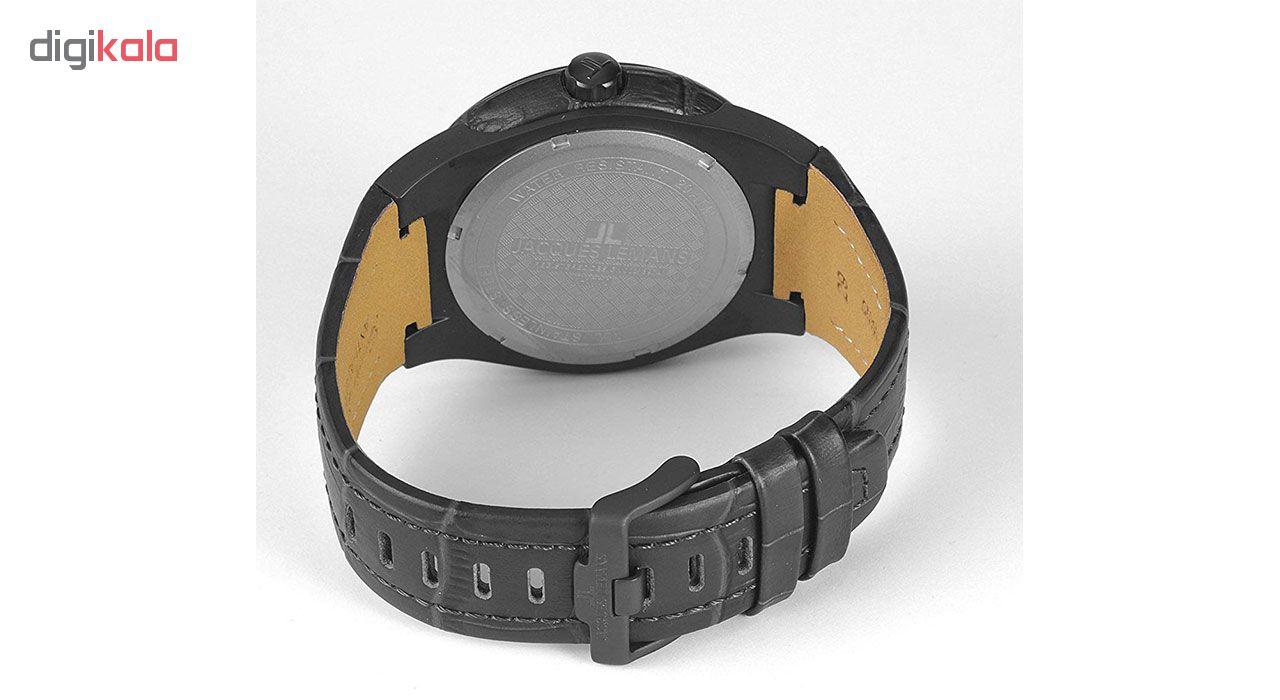 کد تخفیف                                      ساعت مچی عقربه ای مردانه ژاک لمن مدل 1-1770J
