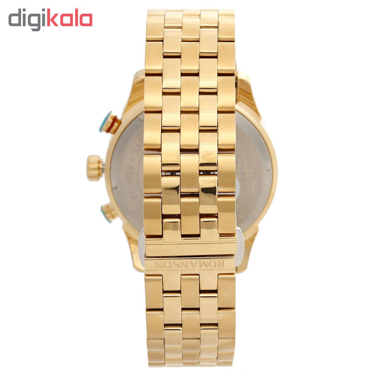کد تخفیف                                      ساعت مچی عقربه ای مردانه رومانسون مدل  AM6A14HMGGA1R5